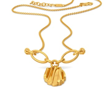 Ruffle Truffle Gold Necklaces