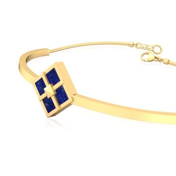 Band of Blues Gemstone Bracelets