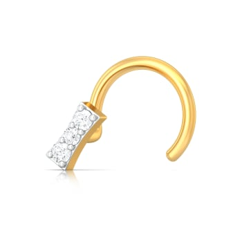 Nightqueen Diamond Nose Pins