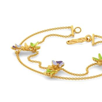 Saga de Corsage Gold Bracelets