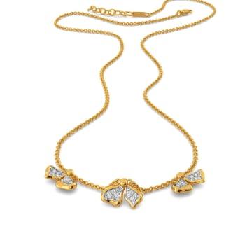 Triple Twins Diamond Necklaces