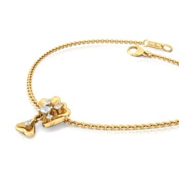 Fall Flowers Diamond Bracelets