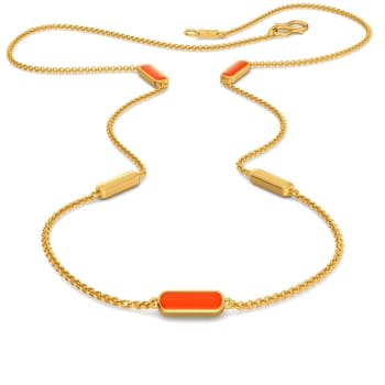 Tangy Angie Gold Necklaces