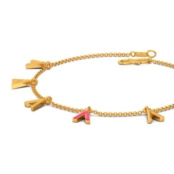 Vision in Pink Gold Bracelets