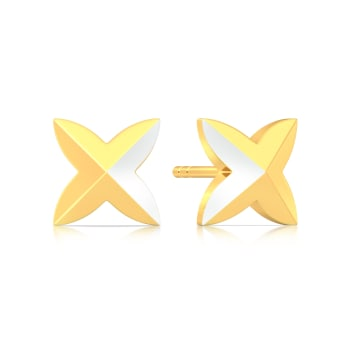 Angel Punk Gold Earrings