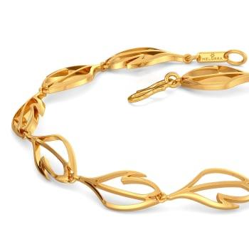 A Lot Like Feather Gold Bracelets