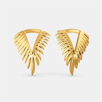 Feather Feels Gold Earrings
