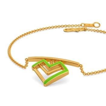 Love Pines Gold Bracelets
