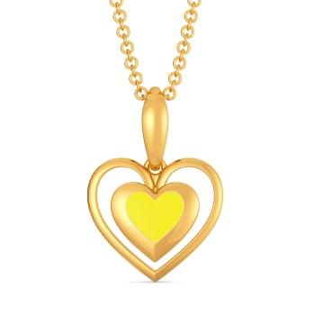 Love Brunch Gold Pendants