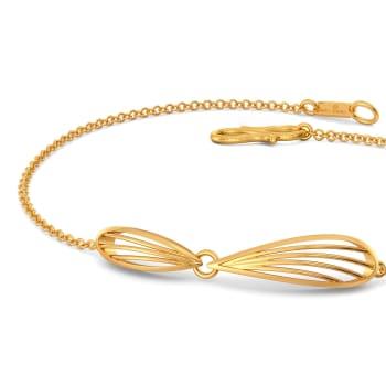 Joli Petale Gold Bracelets