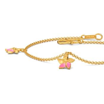 Team Tropical Gold Bracelets