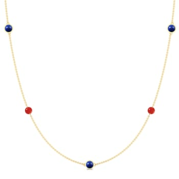 Nautical Colours Gemstone Necklaces