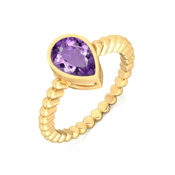 Purple Haze Gemstone Rings