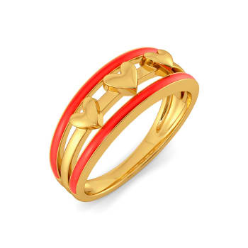 Scarlet Heart Gold Rings