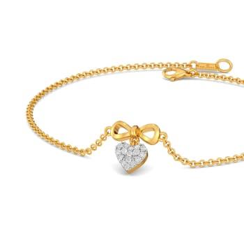 Knotty Hearts Diamond Bracelets