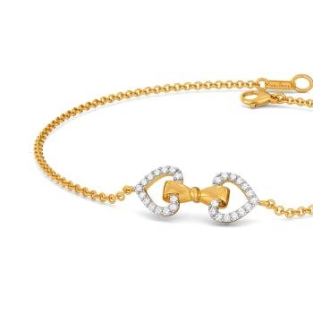 Doting Bows Diamond Bracelets