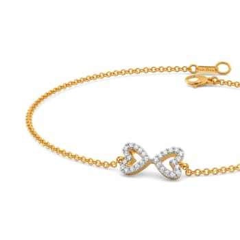 The Bow Story Diamond Bracelets
