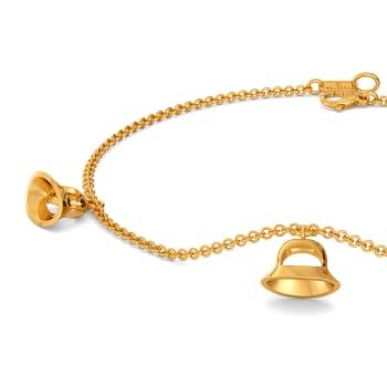 Cloche Clause Gold Bracelets