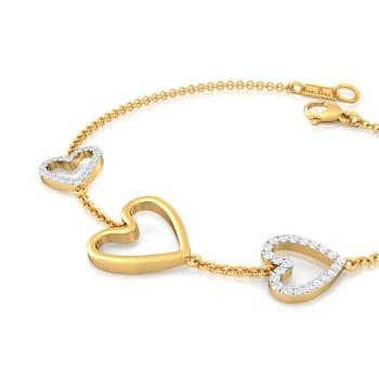 Twice as Nice Diamond Bracelets