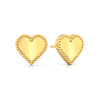 Picture Pretty Gold Earrings