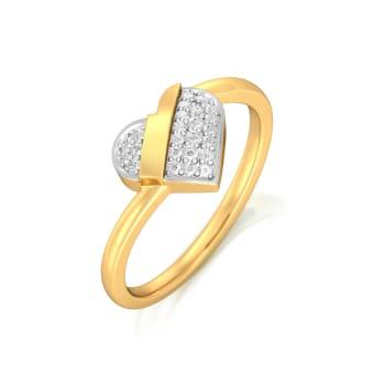 Cross my Heart Diamond Rings