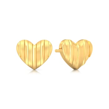 (Un)tainted Love Gold Earrings