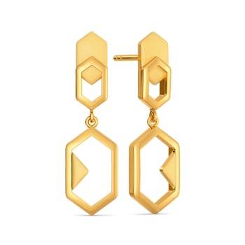 French Flair Gold Earrings