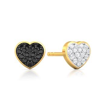 Head Over Heels Diamond Earrings
