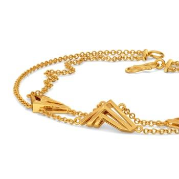 Bold N Brief Gold Bracelets