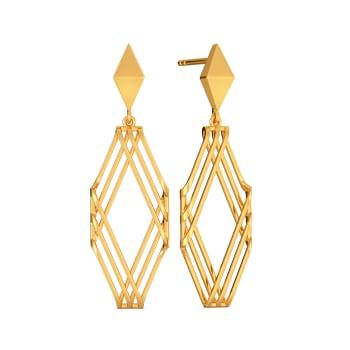 Robe Resist Gold Earrings