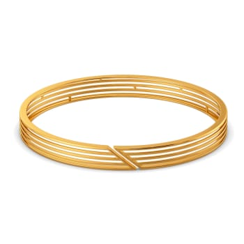 Sheer Strings Gold Bangles