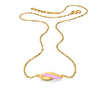 Violet Vision Gold Necklaces