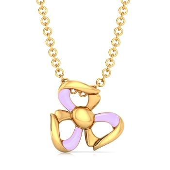 Prim & Purple Gold Pendants