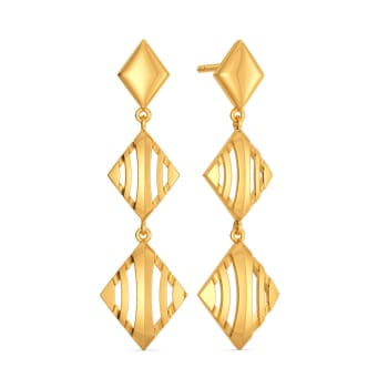 French Urbane Gold Earrings