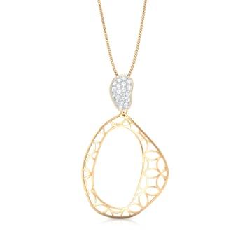 Lace It Up Diamond Pendants