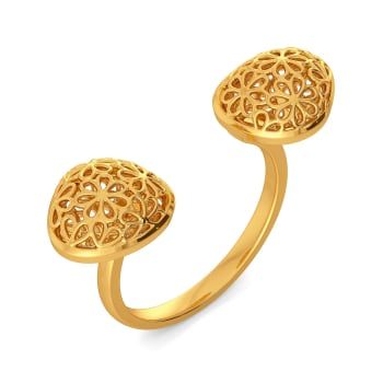 Loop A Lace Gold Rings