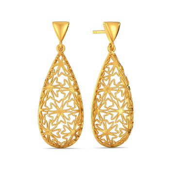 Lace Refresh Gold Earrings