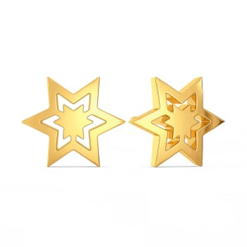 Like A Logo Gold Earrings