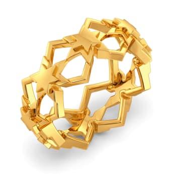 Star Afar Gold Rings