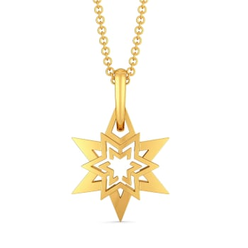Tell A Stellar Gold Pendants