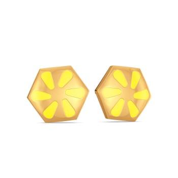 Sweet N Sour Gold Earrings