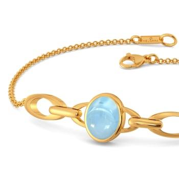 Blue Hues Gemstone Bracelets
