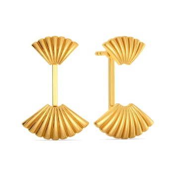 Miss Poisson Gold Earrings
