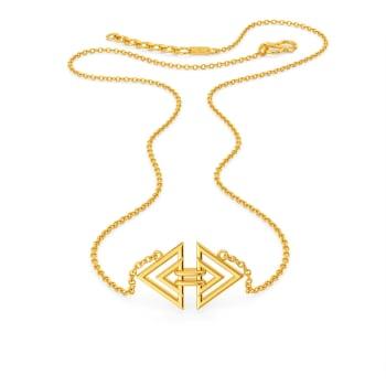 Tripartite Party Gold Necklaces