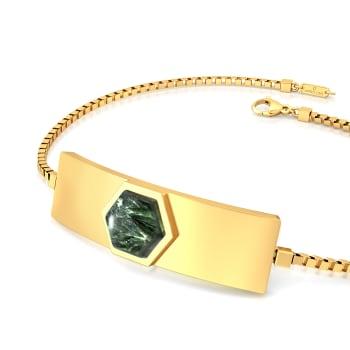 Hexa-Seraphinite  Gemstone Bracelets