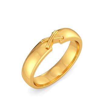 The Cross Bows Gold Rings