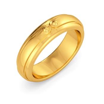 Cummerbund Gold Rings