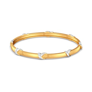 Loop Troops Gold Bangles