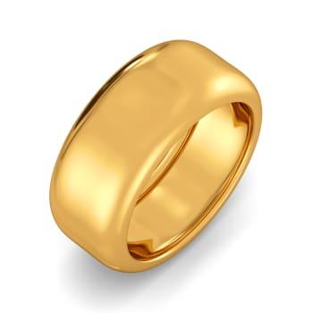 Rustic Rhyme Gold Rings