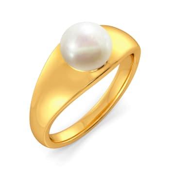 Pearl Play Gemstone Rings